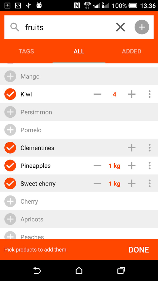 Smart List HD - Shopping List screenshot